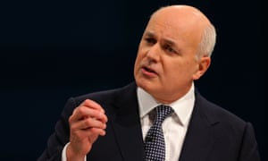 The most prolonged howl has come from Iain Duncan Smith.