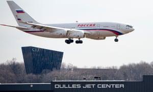 A Russian aircraft.