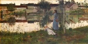 William Stott of Oldham's Le Passeur (The Ferryman) (1881)