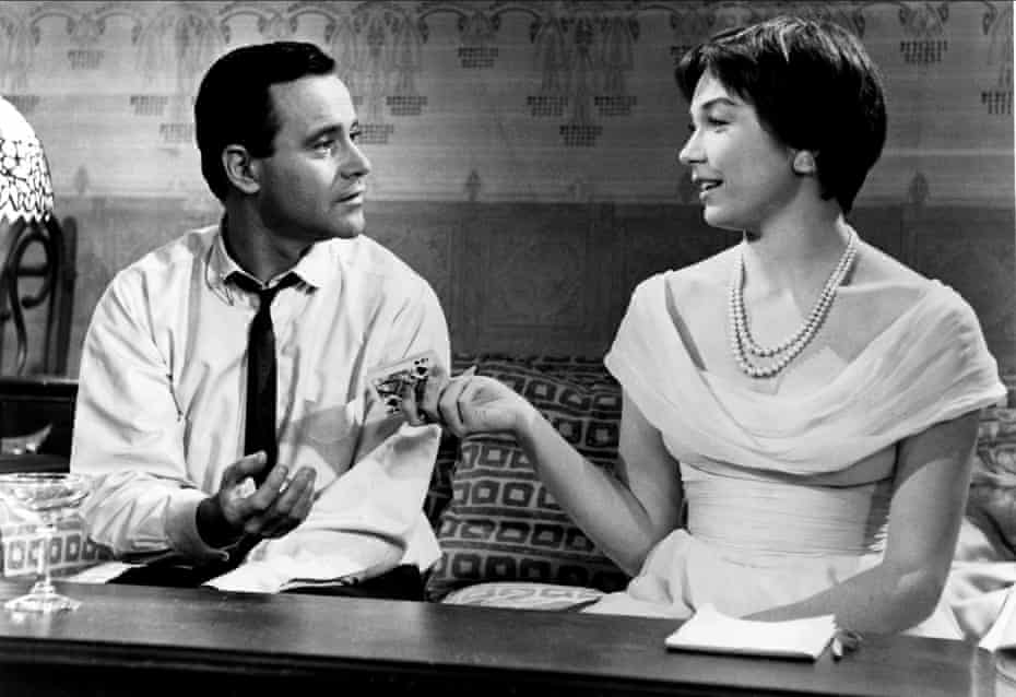 Jack Lemmon and Shirley MacLaine in The Apartment, which lifted the best picture Oscar in 1961.