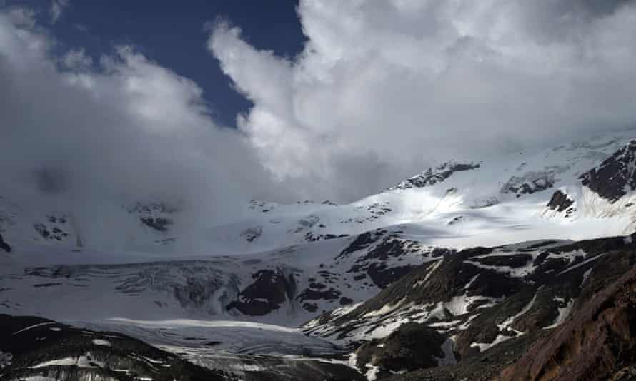 Microplastic pollution has been found on top of mountains such as the Forni glacier in Santa Caterina Valfurva, Italy.