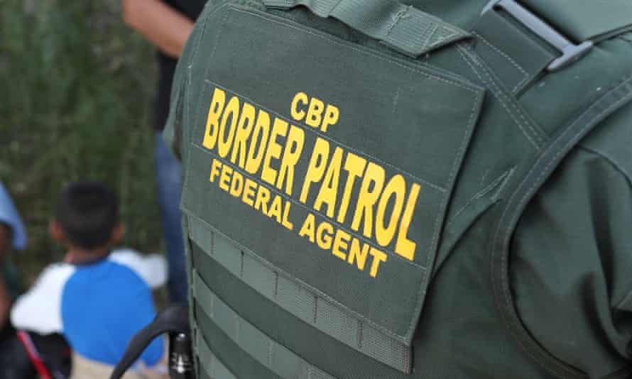 logo of border patrol