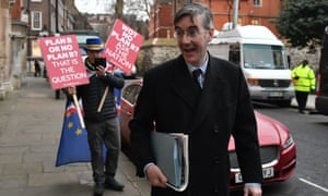 Jacob Rees-Mogg in Westminster, London