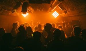 Guests at a club night at Mono, Brighton