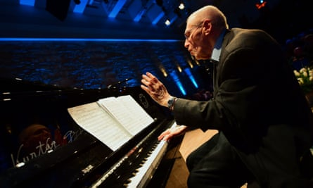 Our greatest living composer? György Kurtág at the Budapest Music Centre.
