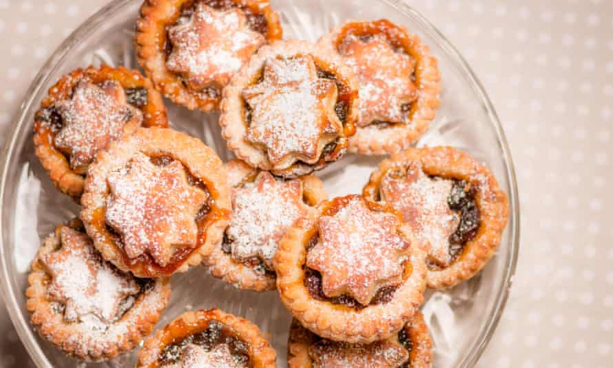 Home-baked mince pies