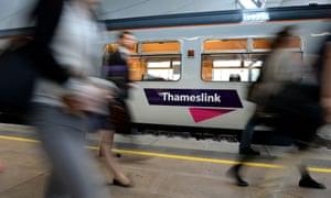 A Thameslink train