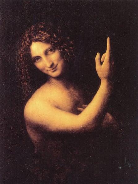 St John the Baptist, after 1500 by Leonardo da Vinci