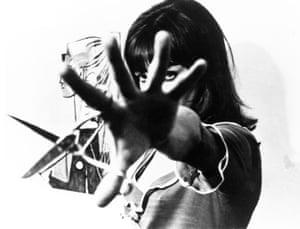 Anna Karina in Pierrot le fou, 1965