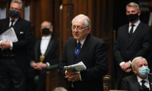 MP Sir Peter Bottomley speaks in the House of Commons.