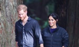 The Duke And Duchess Of Sussex in Rotorua, New Zealand, last year.
