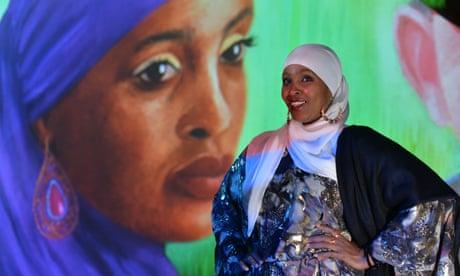 The Irish-Somali FGM activist Ifrah Ahmed in Dublin last month.