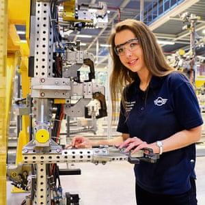Courteney Stone, engineering technician apprentice at BMW