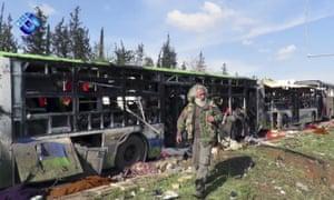 Aleppo suicide bombing