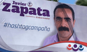 Javier Zapata's much-mocked billboard.