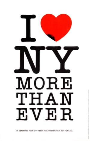I Heart NY More Than Ever poster by Milton Glaser