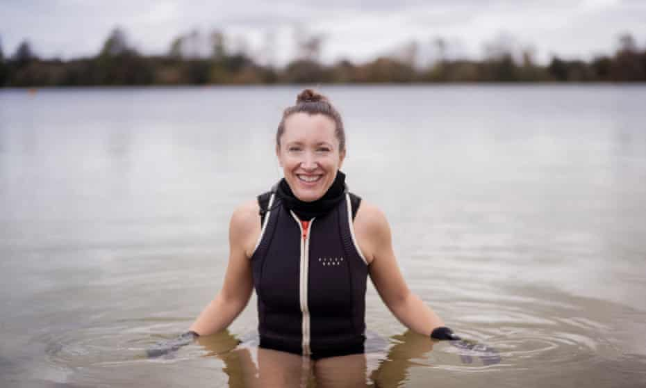 Amy Flemming at Lake 32, Cotswold Water Park, South Cerney, Cirencester.