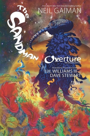 Impossibly weird … The Sandman by Neil Gaiman, JH Williams III and Dave Stewart.