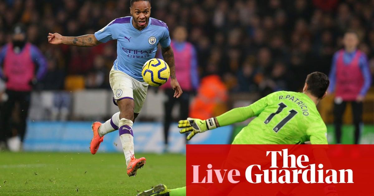 Wolves v Manchester City: Premier League – live!