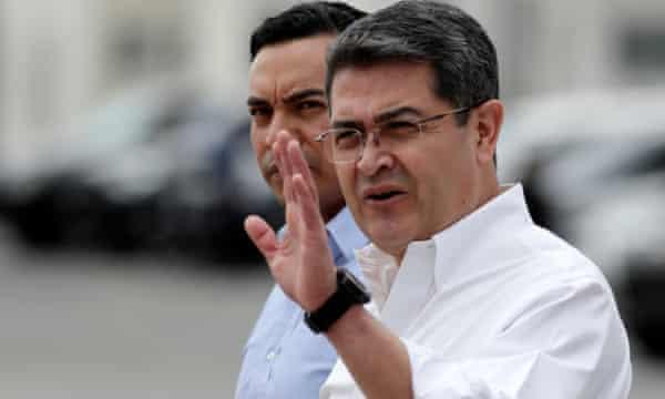Honduras President Juan Orlando Hernández.