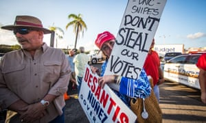 Some Republicans have made baseless claims of Democrats 'stealing' the election.