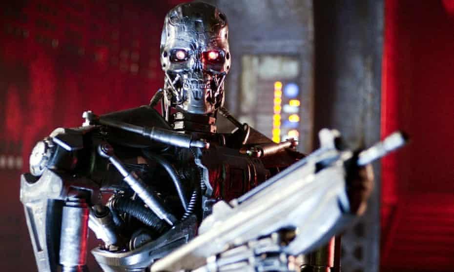 A scene from Terminator Salvation (2009).