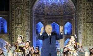 Uzbekistan's president, Islam Karimov, whose administration has been accused of silencing critics.