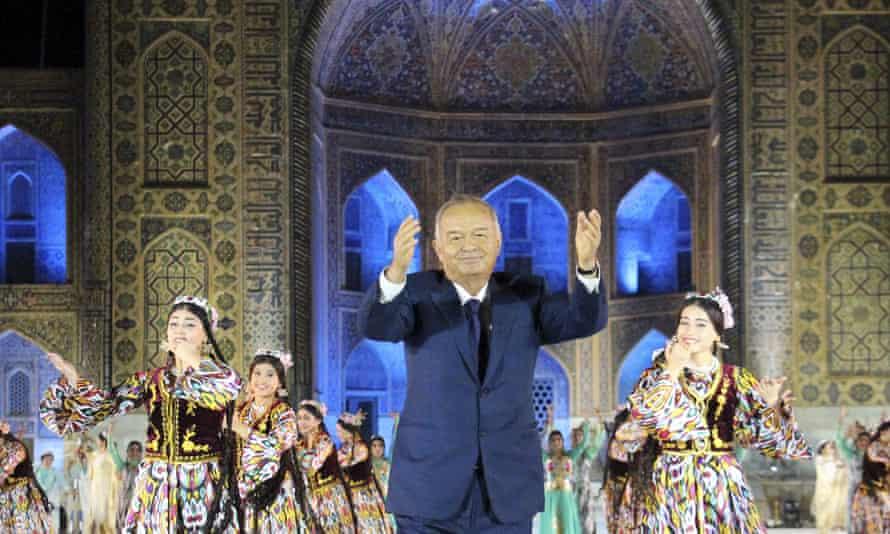 Uzbekistan's President Karimov in Samarkand