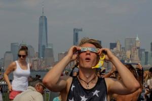 New York eclipse viewer