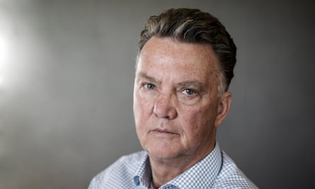 Louis van Gaal, pictured in the Netherlands last month, says: 'We had a big lack of creative players. That's why we played that, in your eyes, boring football.'