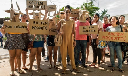 Taís Araújo (center): 'Through TV drama it's very easy to touch people's hearts and show them we all need to care about this rainforest.'