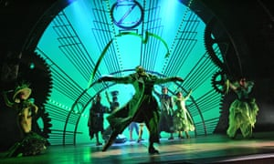 A scene from Wicked in 2006