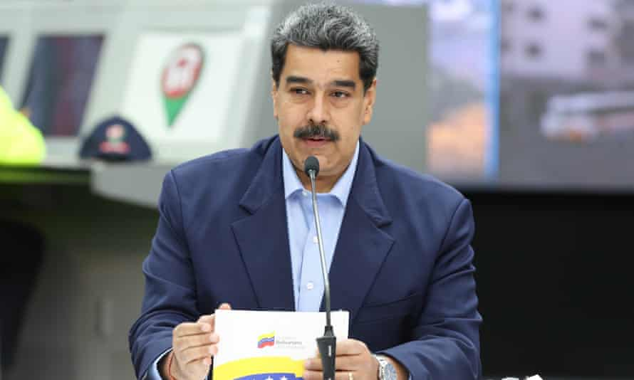 'Give birth!' Nicolás Maduro said at a televised event promoting a women's healthcare plan.