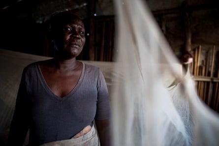 Dagaban, who looks after her three grandchildren at Malakal camp