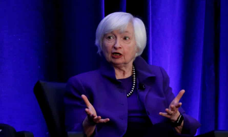Janet Yellen was removed from the Federal Reserve by Donald Trump.