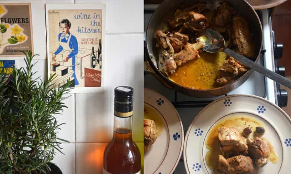 Rachel Roddy's pollo alla cacciatore – hunter's chicken.
