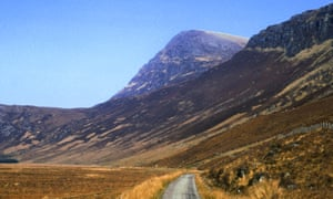 View of Ben Hope in Sutherland