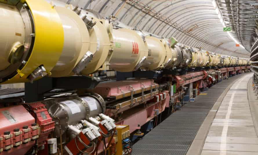 The HERA accelerator at DESY in Hamburg