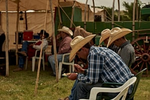Over the next two days, cowboys branded more than 500 calves.