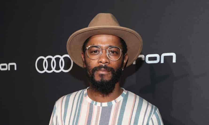 Stanfield, pictured here in 2019, said he had not known much about one of the subjects being discussed, Nation of Islam founder Louis Farrakhan.
