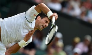 Novak Djokovic had a 100% record on his second serve during the second set.