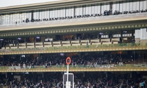 The new stand at Longchamp.