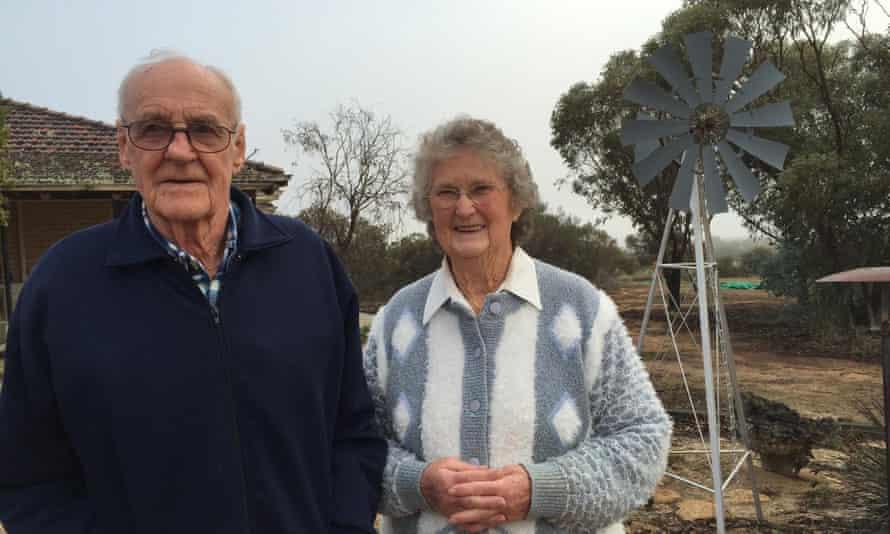 Bryan Davies and Bernice Davies