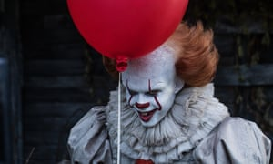 Confounding predictions … Bill Skarsgård as Pennywise in It.