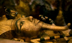 King Tutankhamun's golden sarcophagus