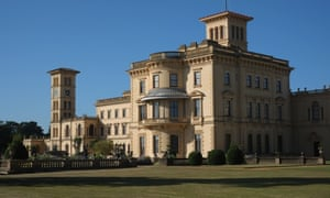 Osborne House, Isle of Wight, UK.
