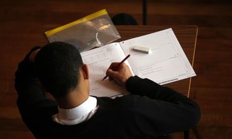 Pupils 'refusing to sit GCSE exams in new tougher format'