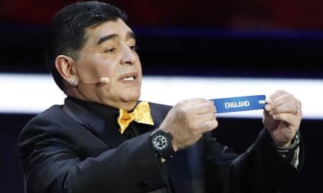 Fates and Diego Maradona hand England a World Cup group of hope | Barney Ronay