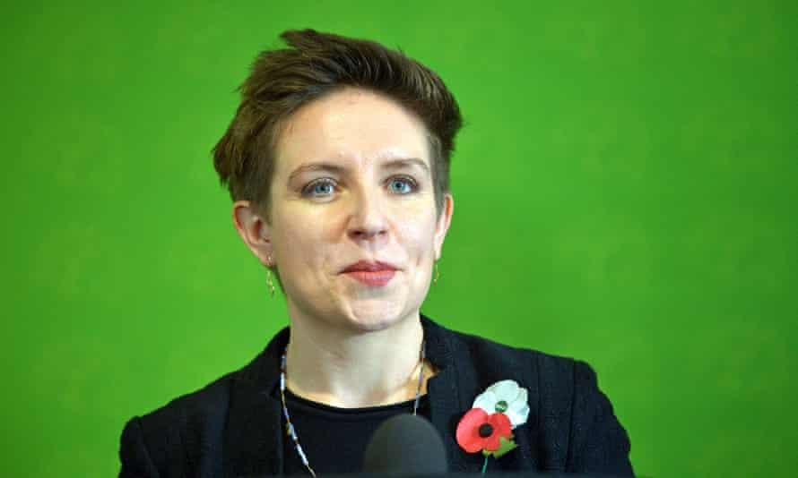 Bristol Green party councillor Carla Denyer