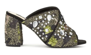 Chill embellished mule, £59, by Miss Selfridge